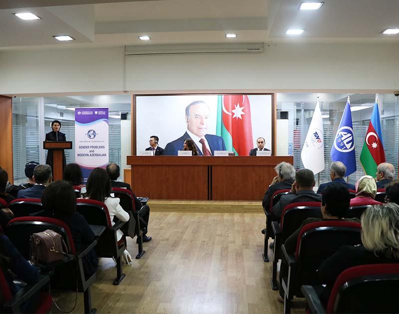 Gender problemi və müasir Azərbaycan - Beynəlxalq konfrans
